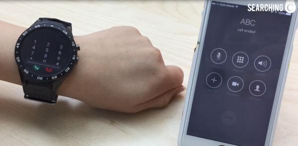 支援Google Play所有程式!全新多功能智能手錶登場