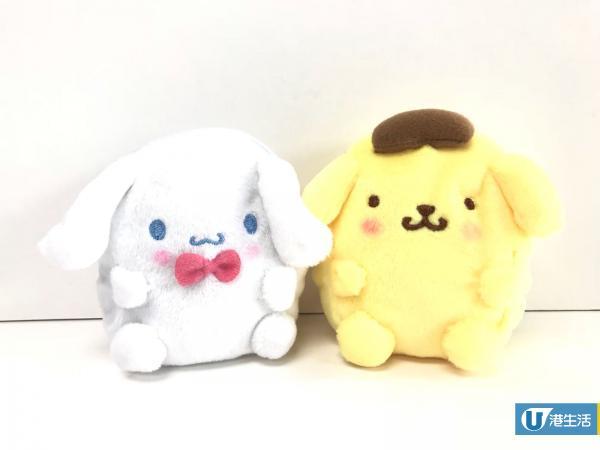 10款Sanrio角色肥嘟嘟散紙包!Hello Kitty/My Melody/玉桂狗