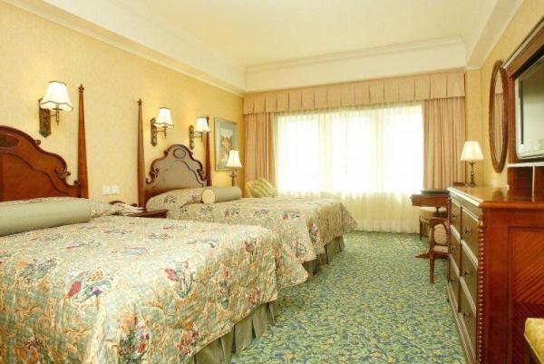 酒店的房間佈置別具心思。