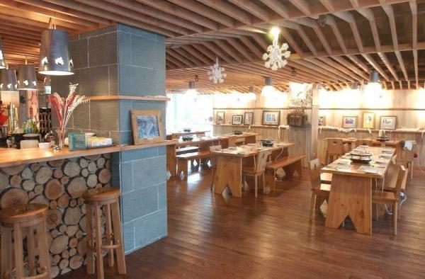 Sabatini 意大利餐廳裝潢甚具特色。