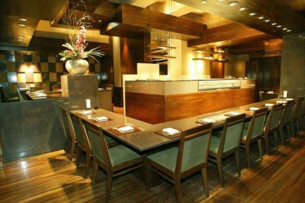 酒店內的鹿悅日本餐廳。