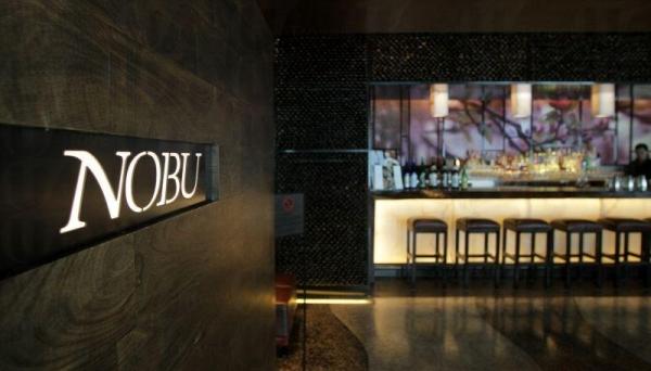 酒店內的 Nobu 餐廳。