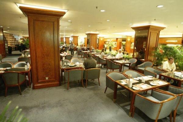 酒店內的大堂酒廊。