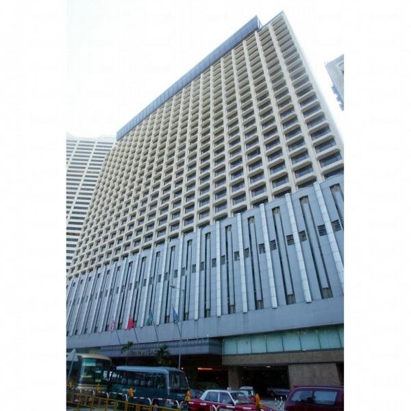 酒店建築甚為宏大。