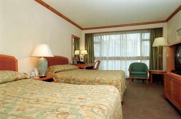 酒店房間內貌。