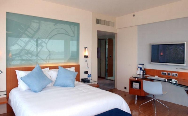 酒店房間設備完善。