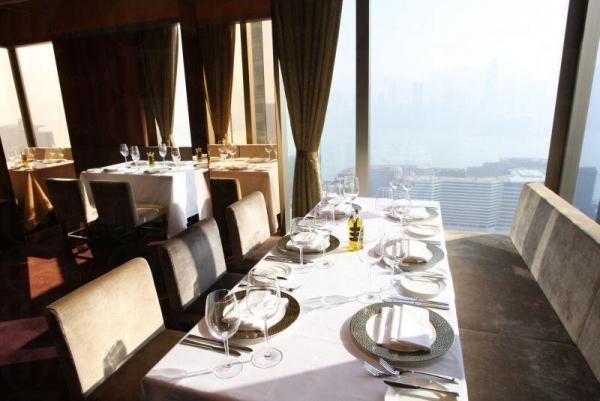 餐廳景觀開揚舒適。