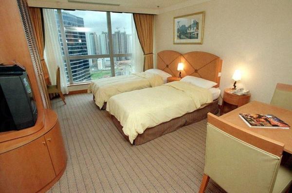 酒店房間小巧精緻。