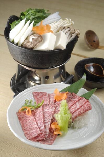 和牛野菜鍋,又一清新吃法。