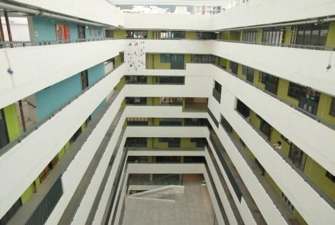 JCCAC 保留香港舊有工廠大廈的設計。