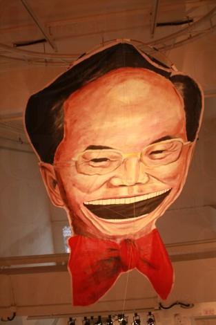 JCCAC 不定期舉辦展覽,此為「粵港聯展」的作品。