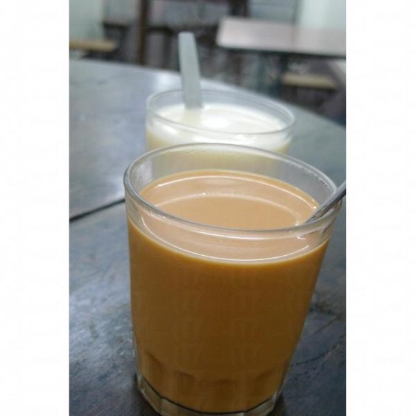 其記有名的香滑奶茶。