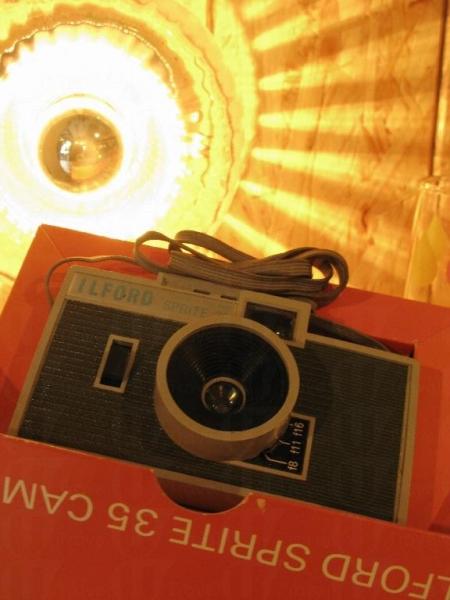 經典 Ilford Sprite 相機由英國入口。