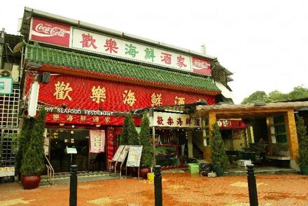 歡樂海鮮酒家有少年廚神座陣,晚晚坐滿了顧客。