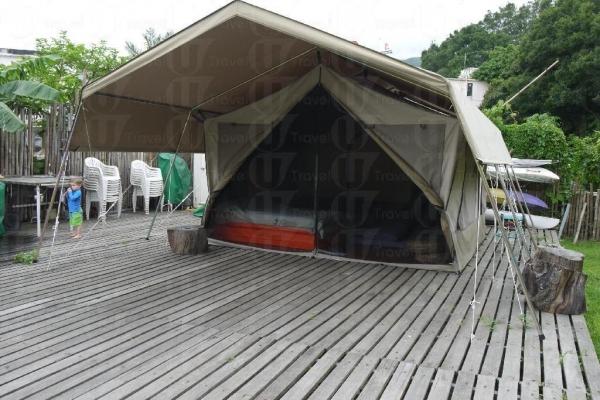 南非野外營內設有冷氣機,十分周到。