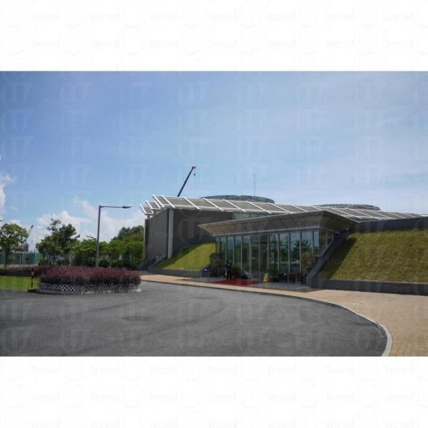 屯門環保園的訪客中心開放予市民參觀。