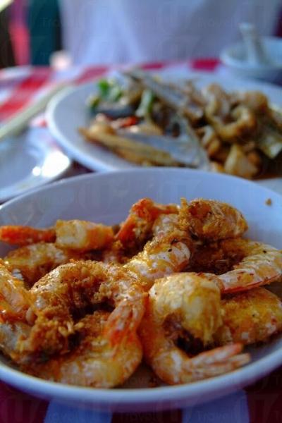 富貴黃金蝦比一般炸蝦更香口。