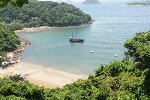 傳聞清水灣因其清澈的海水而命名