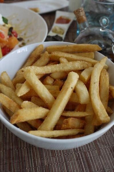 英式薯條鹹味適中。