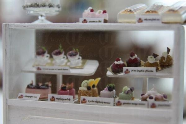 每一件蛋糕不但造型各有特色,連名字也不相同,不得不佩服店主的心思。
