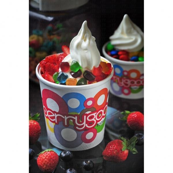 BerryGood 為食客們提供多種味道,還可以配搭四十多種不同配料,極為吸引。