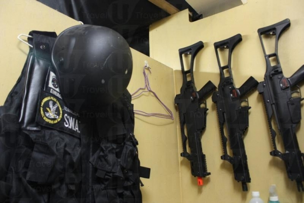 上齊裝備,預備衝鋒陷陣。