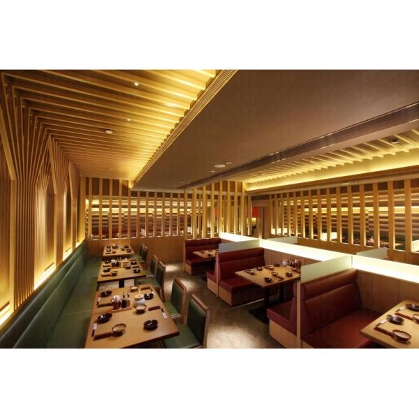 勝博殿餐廳坐位,簡約得來又不失日本傳統味。