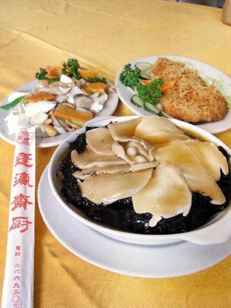 蓬瀛仙館的素食獲得不少好評,更有不少忠實支持者。