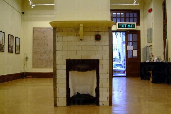 中心於 1922 年落成,屬第二級歷史建築群,圖中的火爐己有多年歷史。