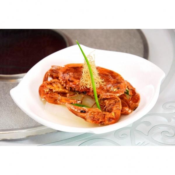 油鹽水浸越南活軟殼蟹亦是龍璽的上等食品。