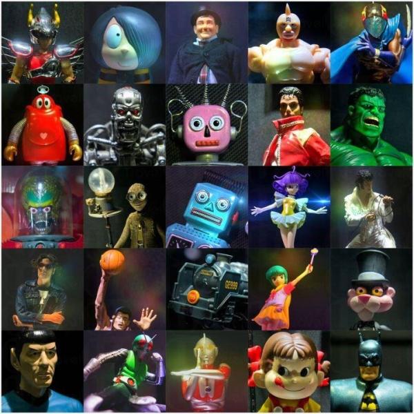 Hobby and Toy Museum 展出的展品近千件,包括玩具車、娃娃、玩偶、卡通人物、科幻藏品、模型火箭、日本動畫、懷舊玩具等。