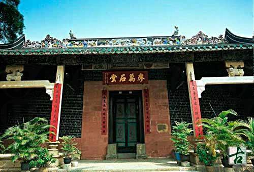 廖萬石堂是上水廖族最大的祠堂。