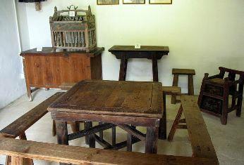 民俗文物館紀錄從前客家人的生活情況。