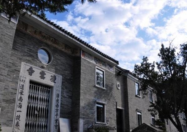 凌雲寺至今已有六百年歷史。