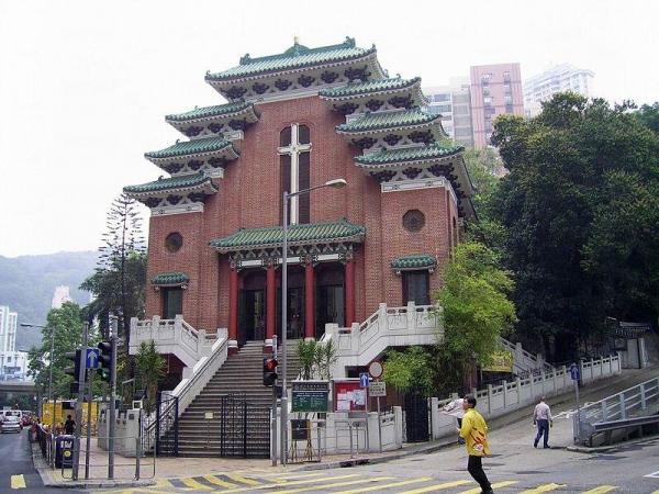聖馬利亞堂位於銅鑼灣道。