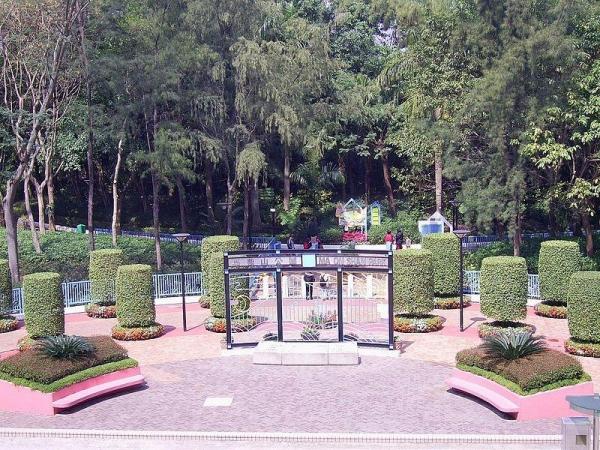 馬鞍山公園正門入口。