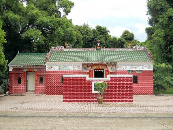 七聖古廟是全港僅有兩間「七姐廟」之一。