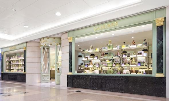 Ladurée是法國著名的甜點老店,而香港的分店則在海港城。