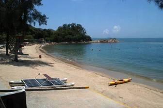 全島最美的海灘,景色優美,鄰近索罟灣