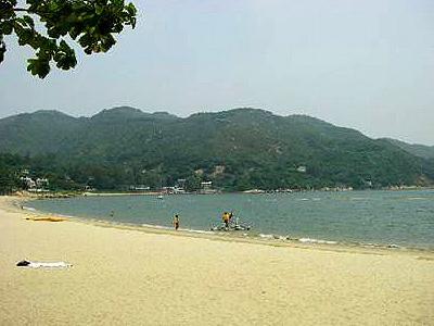 銀礦灣泳灘