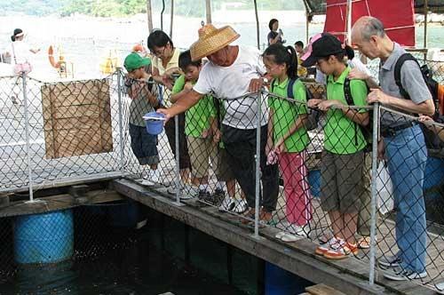 漁民講解(網上圖片)