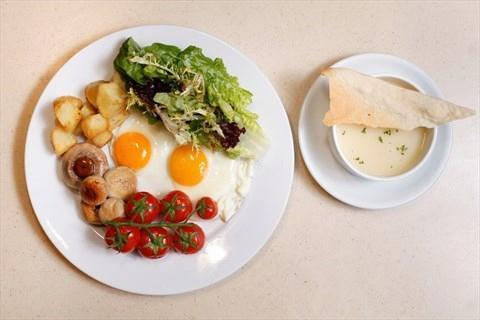 日常早餐。