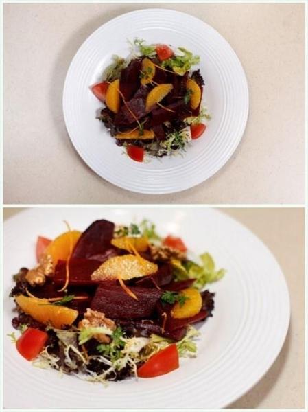 紅菜頭有機沙律。
