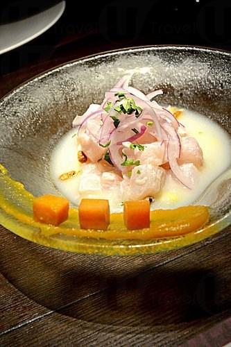 秘魯漁獲相當豐富,所以大廚也用了不少海鮮來做菜。