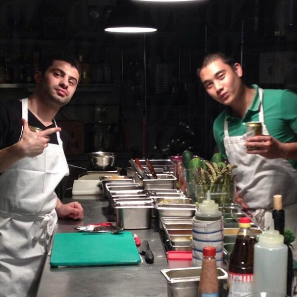 行政總廚Vinny Lauria和主廚Jay Catapang。