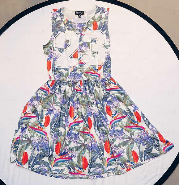 花卉圖案連衣裙 $399