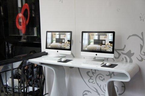 大廳設有iMac電腦區(相片來源:網上圖片)