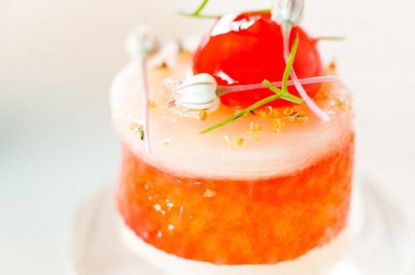 G Seven 無論午餐或晚餐都只供應Tasting Menu,午餐每兩星期一大轉,晚餐就大約五至六星期大改一次,即使常來的客人,每次來都有新鮮感(網上圖片)