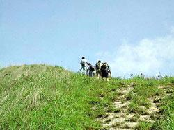 攀登大刀屻(漁農署圖片)
