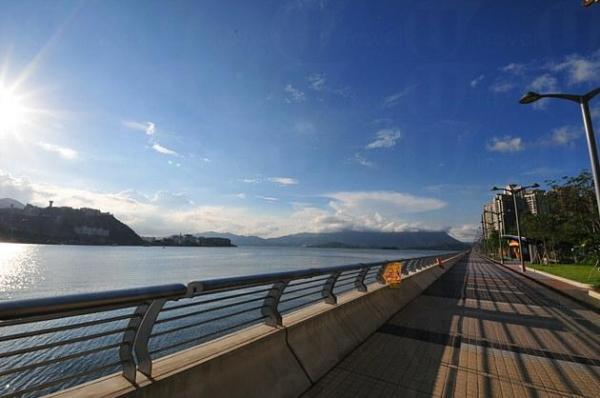 馬鞍山海濱長廊是首個擁有環境保護設施的海濱長廊。